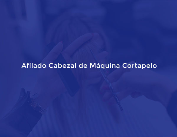Afilado Cabezal de Máquina Cortapelo