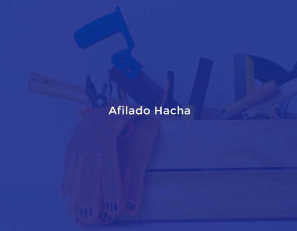 Afilado Hacha