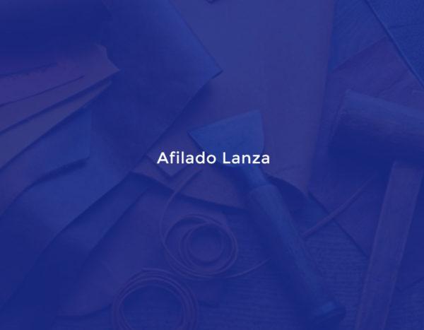 Afilado Lanza