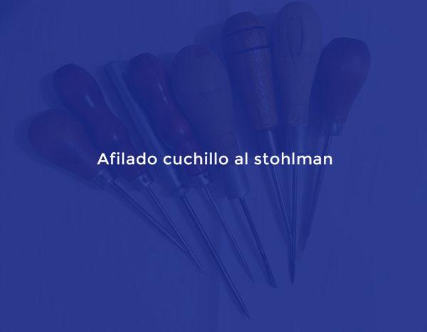 Afilado cuchillo al stohlman